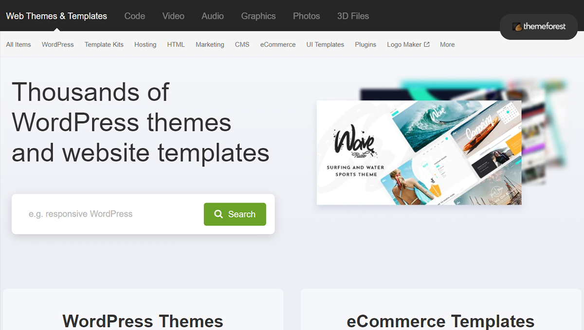 theme forest to buy premium wordpress theme