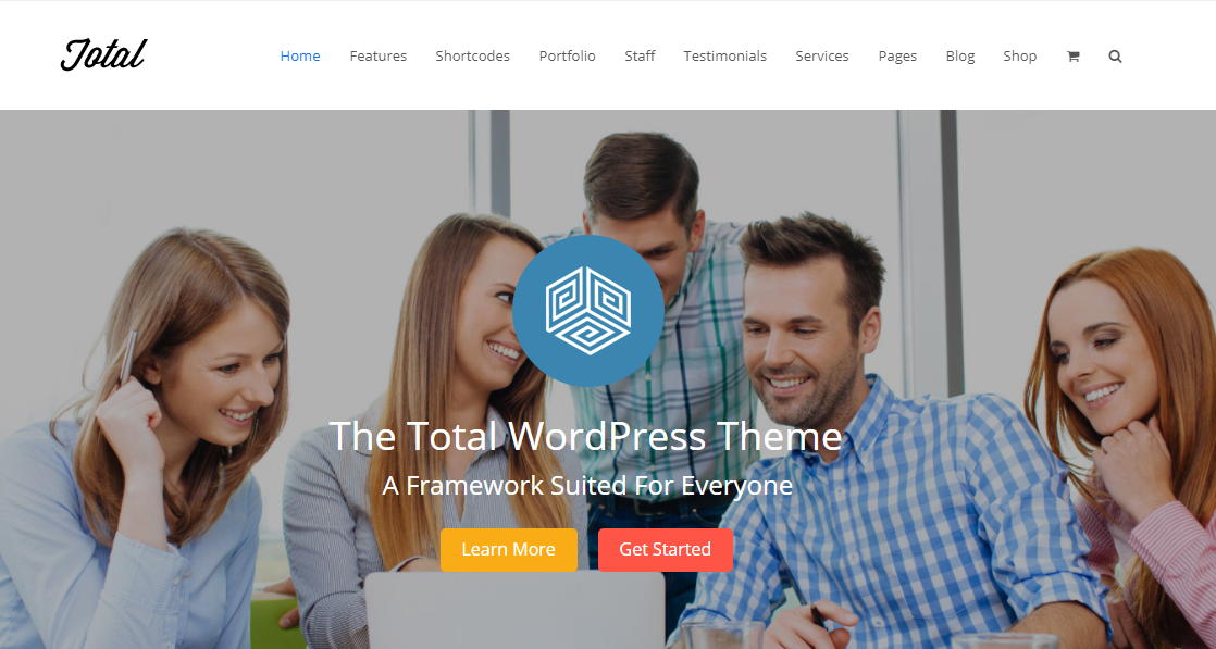 total premium wordpress theme