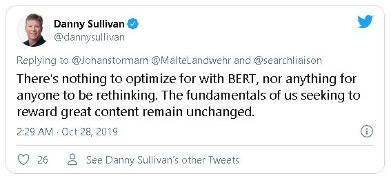 danny sullivan's tweet