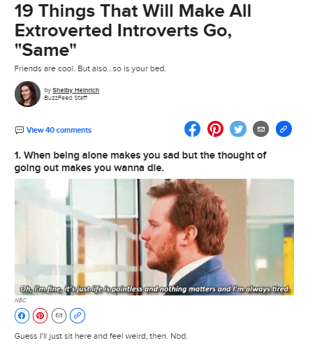 listicle by buzzfeed