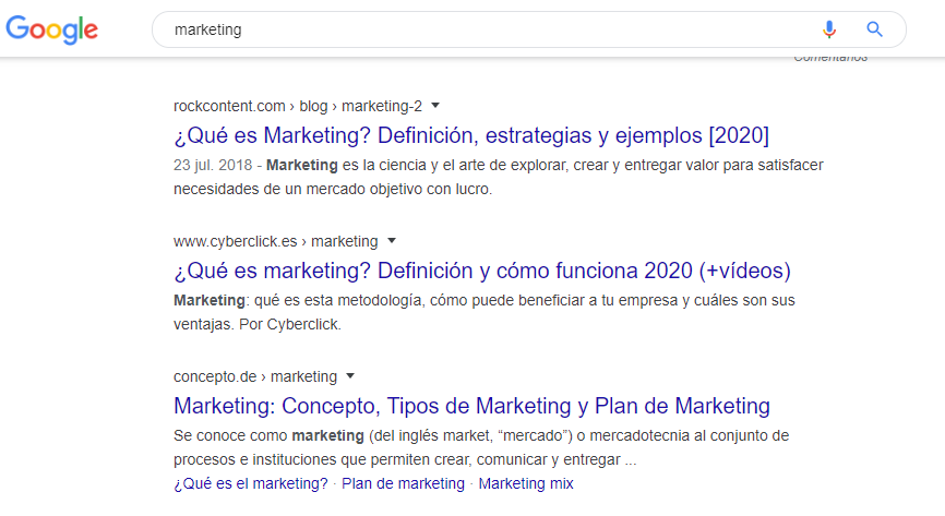 """we have the 1st position for """"marketing"""" in mexico"""