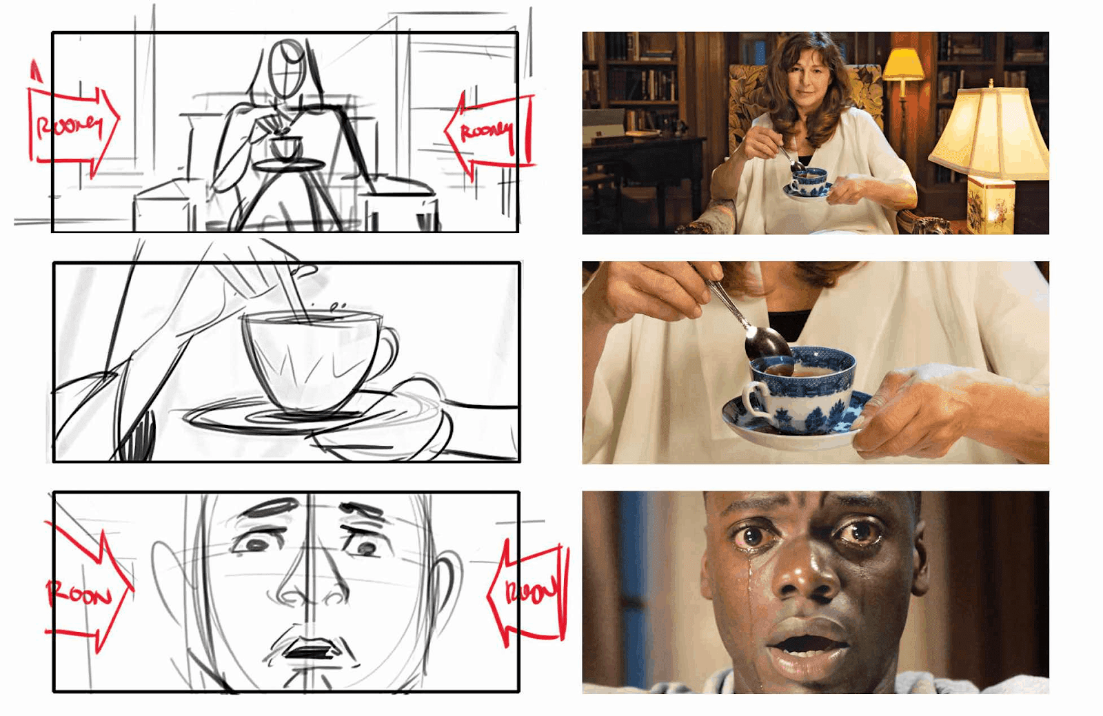 get out storyboard