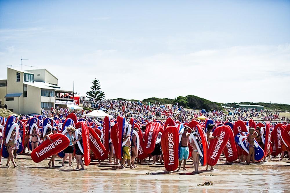 havaianas event in australia