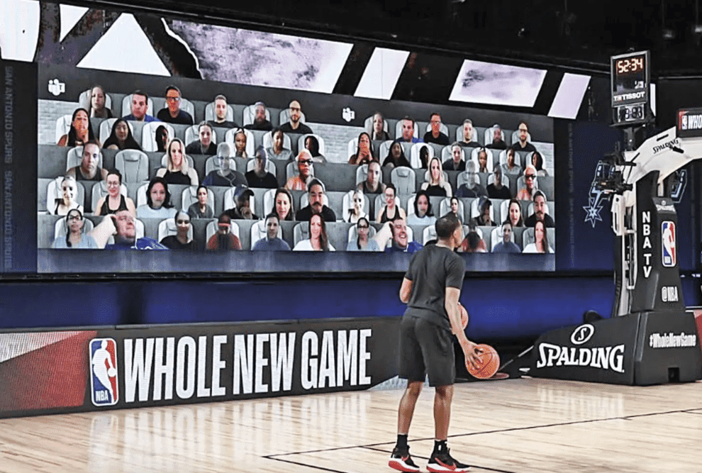 NBA live experience in 2020