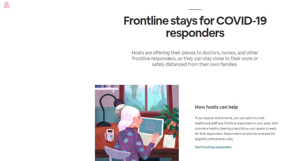 airbnb on coronavirus