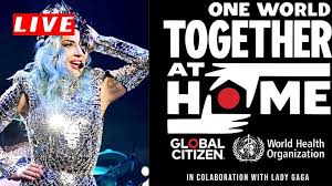one world together live stream, in 2020