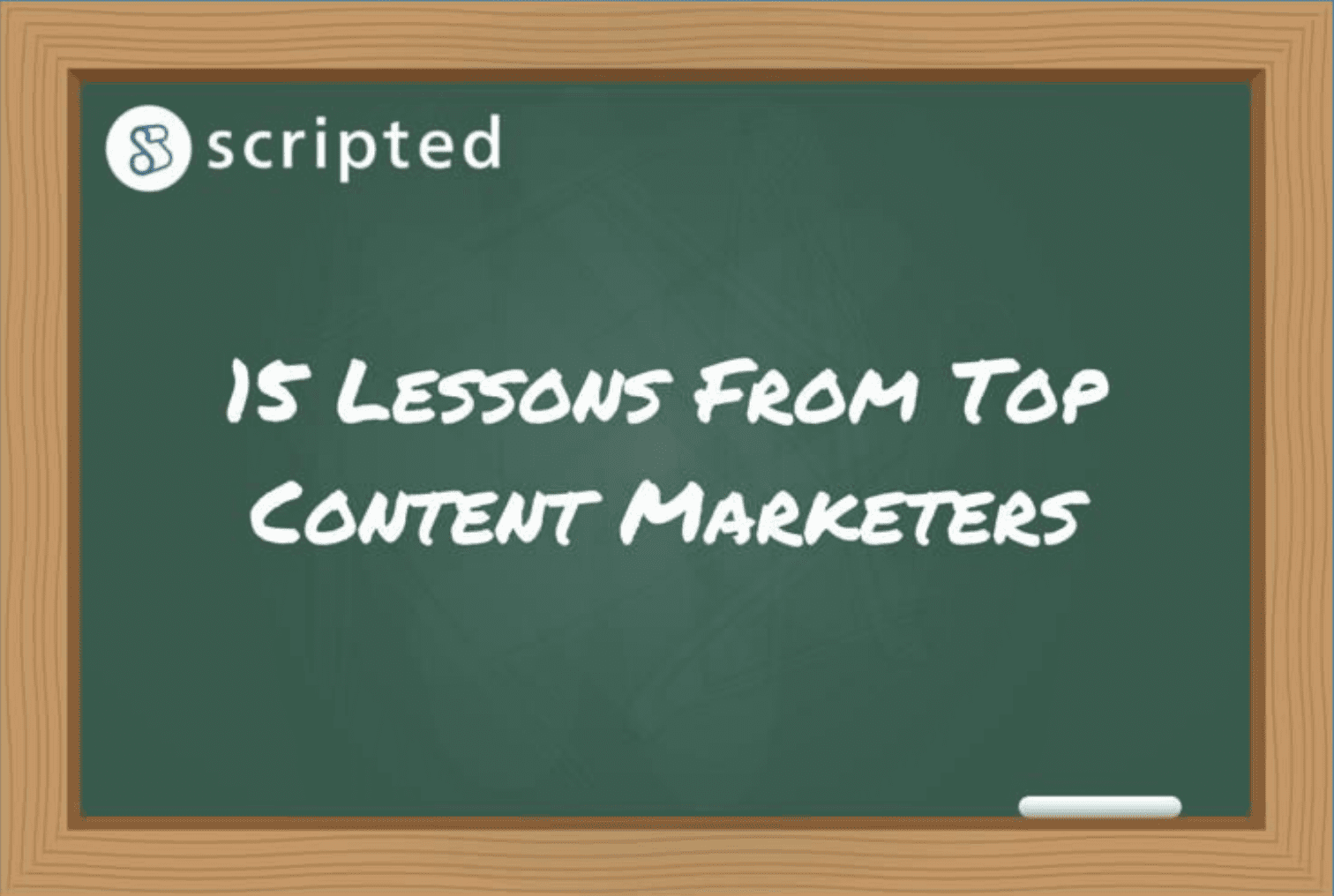 15 Lessons From Top Content Marketers Screenshot