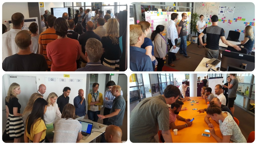 Energising Scrum Events at Schiphol!