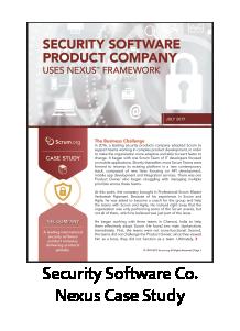 Security Software Company Nexus Case Study