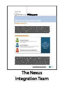 The Nexus Integration Team