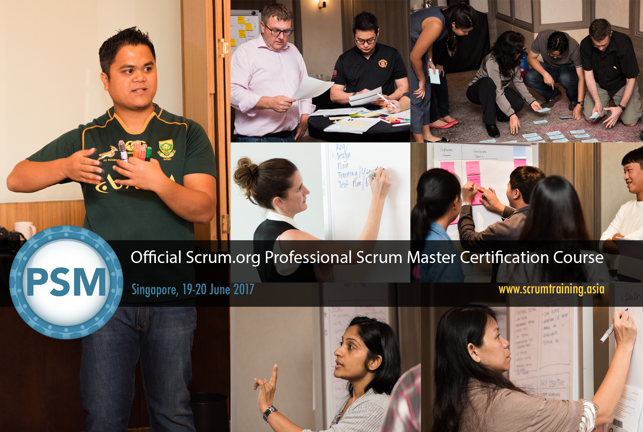 Professional Scrum Master Certification Course Singapore