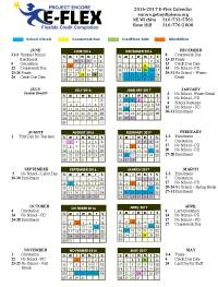 E-Flex Calendar
