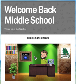 Gary E. Cobb Middle School Virtual Meet the Teacher