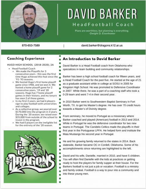 Coach Backer