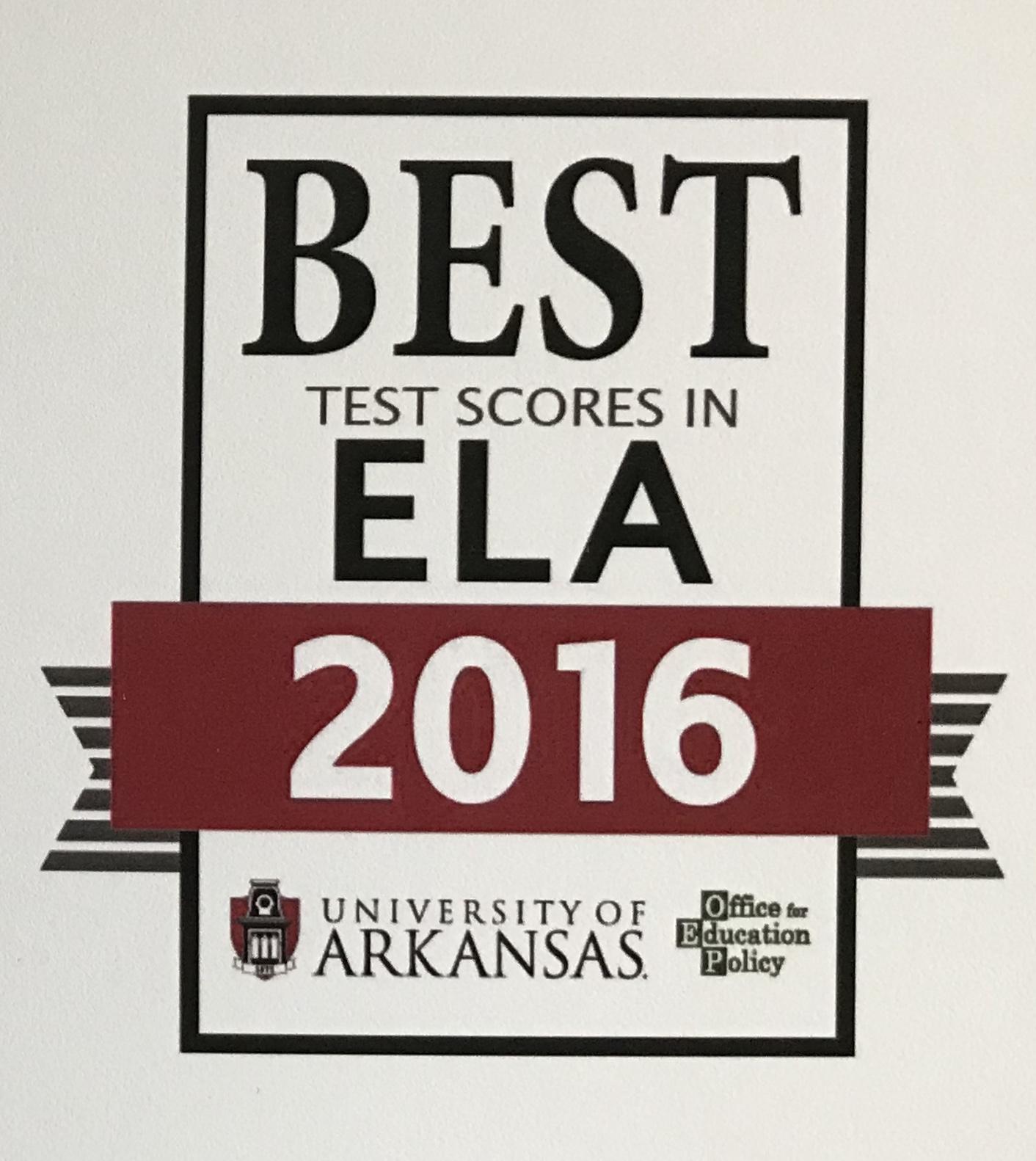 GCHS Top ELA Test Scores 2016