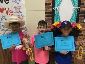 Ms. Colbert's Class- Top 3 AR Points for First Nine Weeks