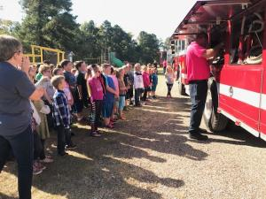 2nd Grade- Learning about a Fire Truck!