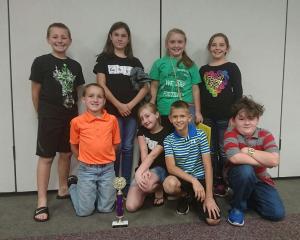 Fourth Grade Quiz Bowl won third place