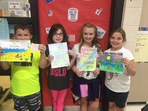 Book Cover winners - Mrs. Redfearn's Class