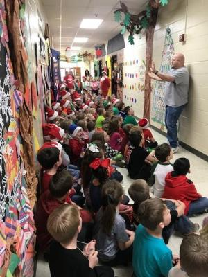 2nd Grade Singing the Twelve Days of Christmas!