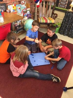 Mrs. Cobb's Class- Collaborating during Science!