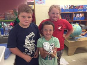 Mrs. Dennington's Class- Proud of their creation!