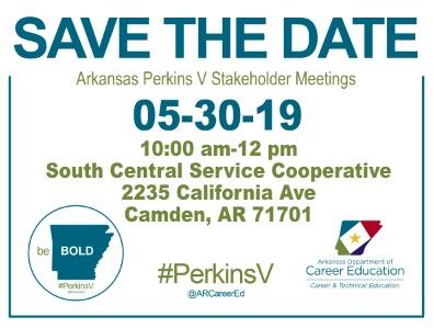 Carl Perkins V stakeholder meeting