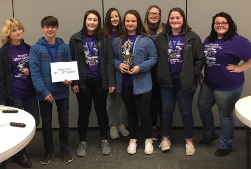 Battle of the Books team 1st place