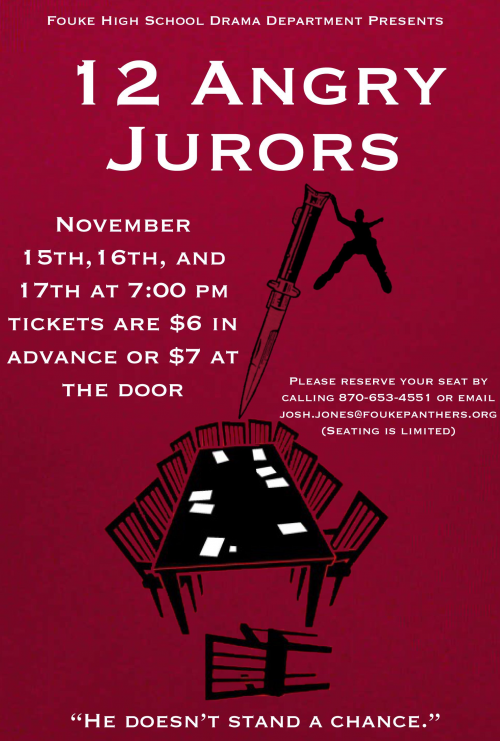 FHS play 12 Angry Jurors