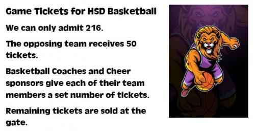 basketball ticket guidelines
