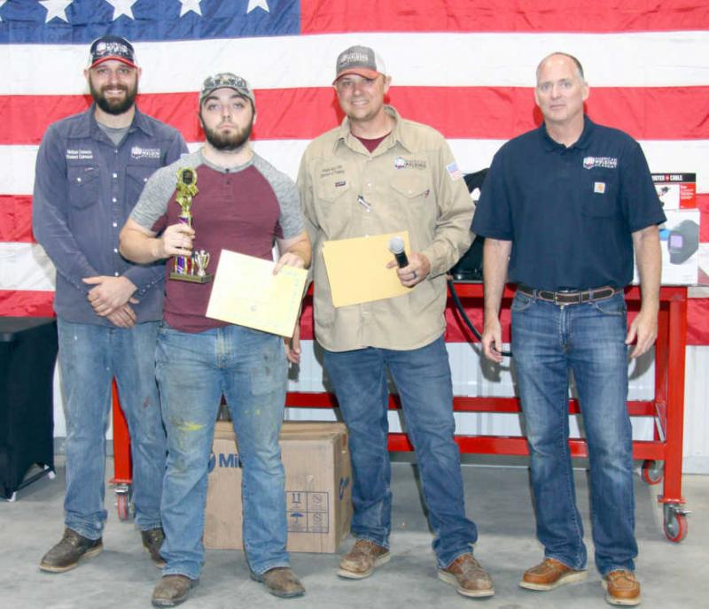 SCTC welding contest winners