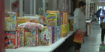 Sikeston kindergarten, early childhood center holds cereal drive for Bulldog Pantry
