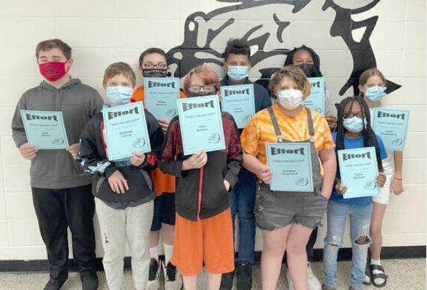 Fifth grade students-May