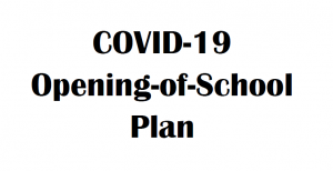 COVID - 19 OPening Plan