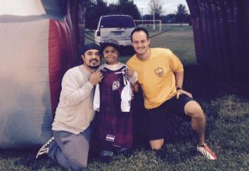 Dustin Ranson Picture with Cota and Dement