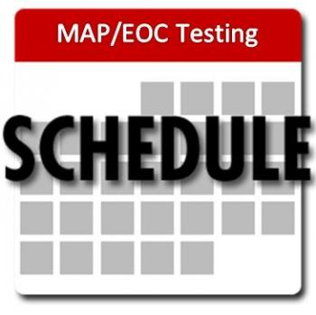 MAP/EOC Testing Schedules