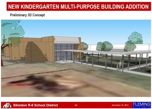 Kindergarten Safe Space Front View