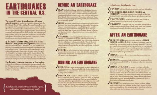 Earthquake Awareness 2