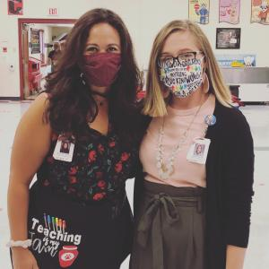 Ms. Adkisson and Ms. Vaught's First Day of School 2020-2021