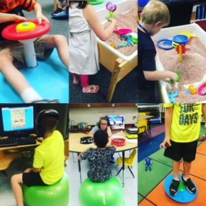 Kindergarten Sensory and Resource Time
