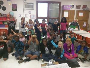 Miss Taylor's 3rd Grade Class (Sept. Best Art Class Winner)