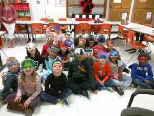 Masks!! (Ms. Dewitt's class)