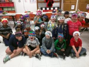 Masks!! (Mrs. McLemore's class)