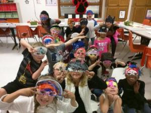 Masks!! (Mr. Chaney's class)