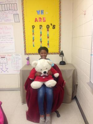 CHRISTIANA - MS. LIGGETT'S STUDENT OF THE MONTH FOR SEPTEMBER!!!