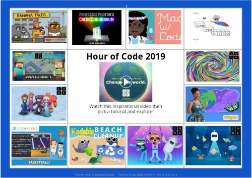 2019 Hour of Code Links
