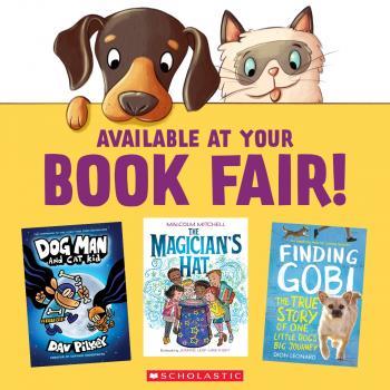 Dog Man available at Book Fair