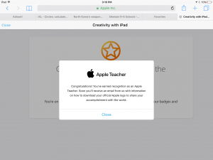 Apple Teacher certification