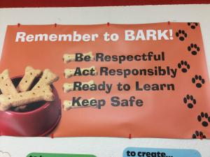 Be Respectful.  Act Responsibly.  Ready to Learn.  Keep Safe.