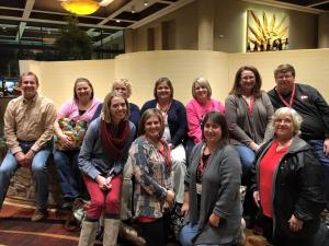 Sikeston's delegates at the annual Missouri State Teachers Association